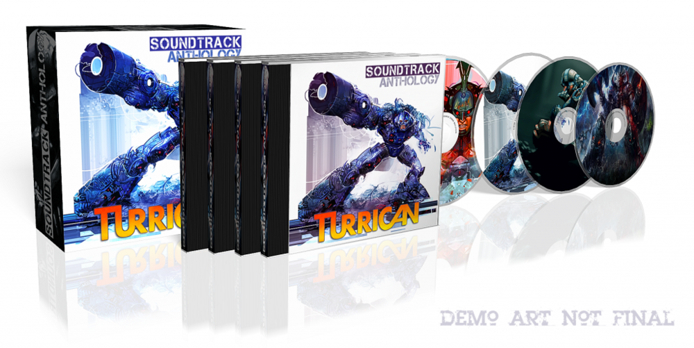 Turrican Soundtrack Anthology 4 CD Box Set Demo